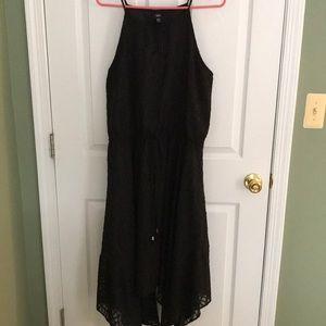 Dresses & Skirts - Black Flowy Asymmetrical Summer Dress
